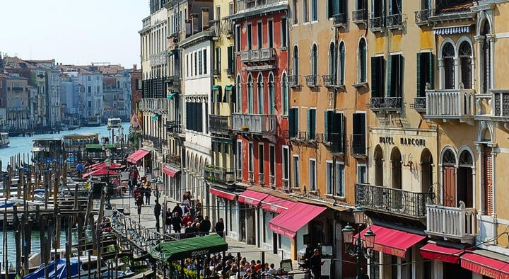 Marconi in Venice, Venetian Riviera, Italy