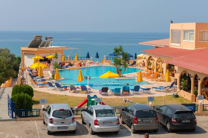 Hotel Palm Bay in Pefkos, Rhodes, Greek Islands