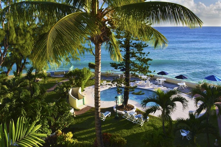 Blue Orchids Beach Hotel in Christchurch, Barbados