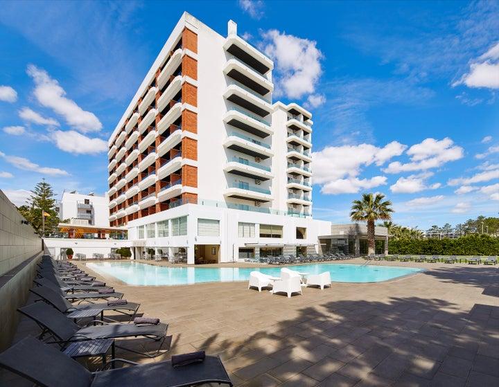 Alcazar Beach & Spa in Monte Gordo, Algarve, Portugal