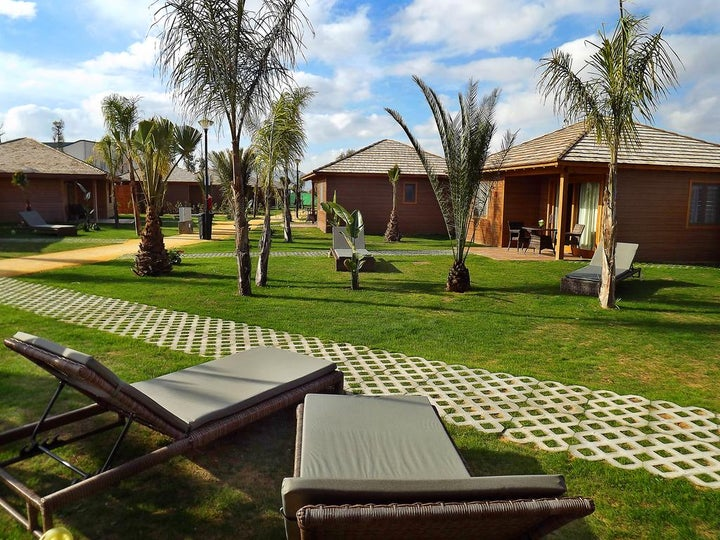 Marjal Costa Blanca Camping & Resort in Elche, Costa Blanca, Spain
