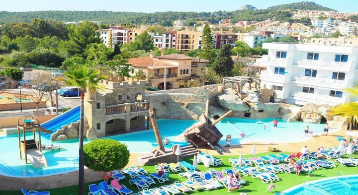 Pirates Village Resort Hotel in Santa Ponsa, Majorca, Balearic Islands