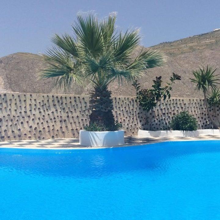 Bluelife in Perissa, Santorini, Greek Islands