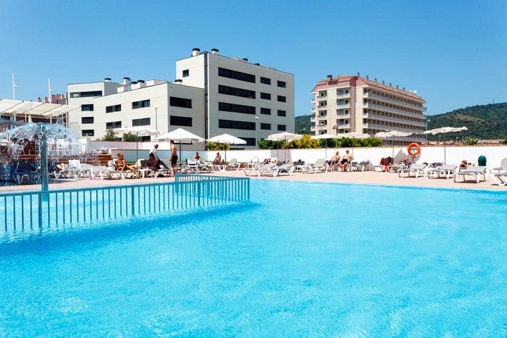 Sorra Daurada Splash Hotel in Malgrat de Mar, Costa Brava, Spain