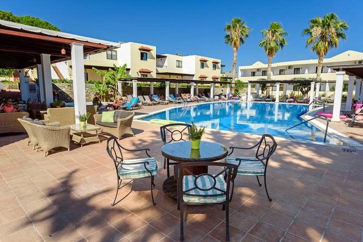 Pefkos Village Resort in Pefkos, Rhodes, Greek Islands