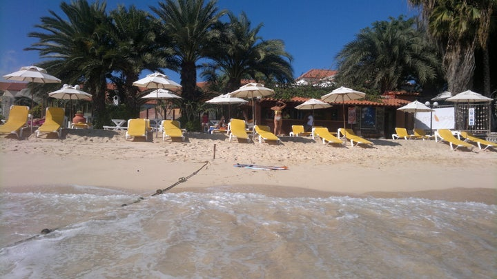 Odjo D'Agua Hotel in Santa Maria (Cape Verde), Cape Verde Islands