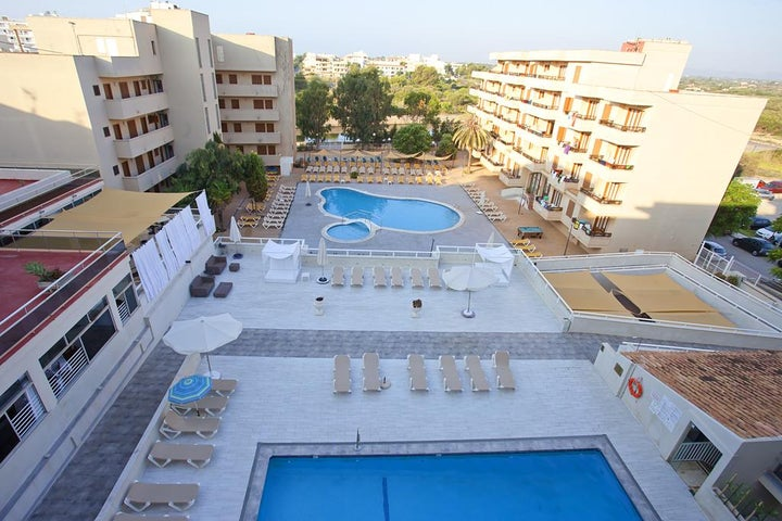 Playamar Hotel y Apartments in S'Illot, Majorca, Balearic Islands