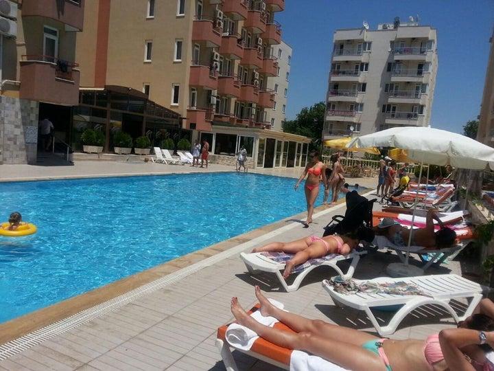 Lara Hadrianus Hotel in Lara Beach, Antalya, Turkey