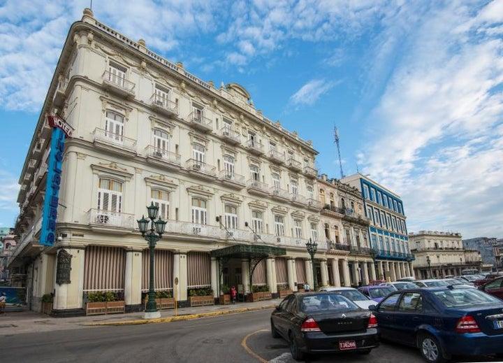 Hotel Inglaterra in Havana, Cuba