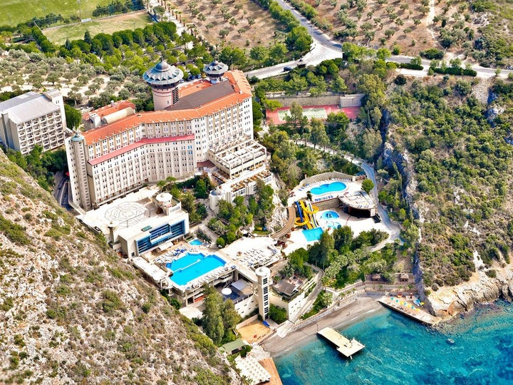 Alkoclar Adakule Hotel in Kusadasi, Aegean Coast, Turkey