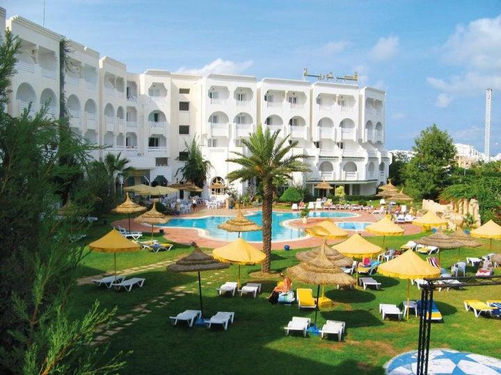 Houria Palace Hotel in Port el Kantaoui, Tunisia