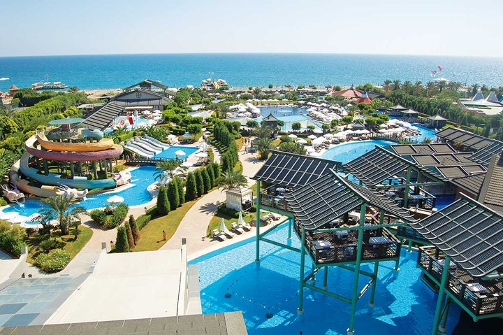 Limak Lara Deluxe Hotel & Resort in Lara Beach, Antalya, Turkey