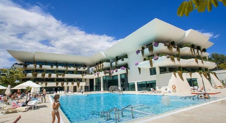 Deloix Aqua Center in Benidorm, Costa Blanca, Spain