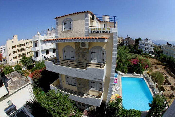 Minas Apartments in Hersonissos, Crete, Greek Islands