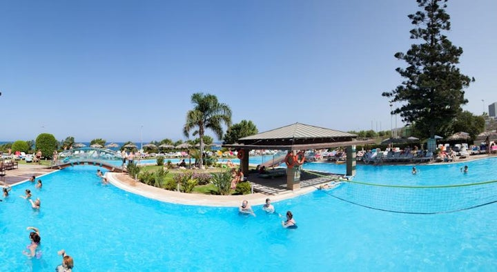 Oceanis Hotel in Ixia, Rhodes, Greek Islands