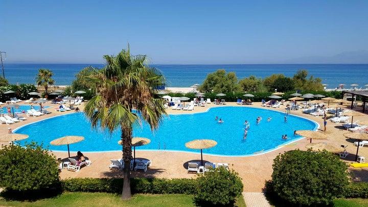 Almyros Beach Resort & Spa in Acharavi, Corfu, Greek Islands
