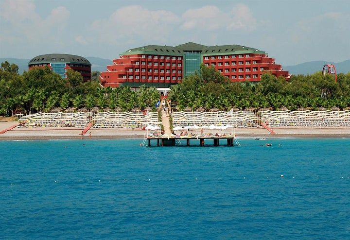 Delphin Deluxe Resort in Alanya, Antalya, Turkey