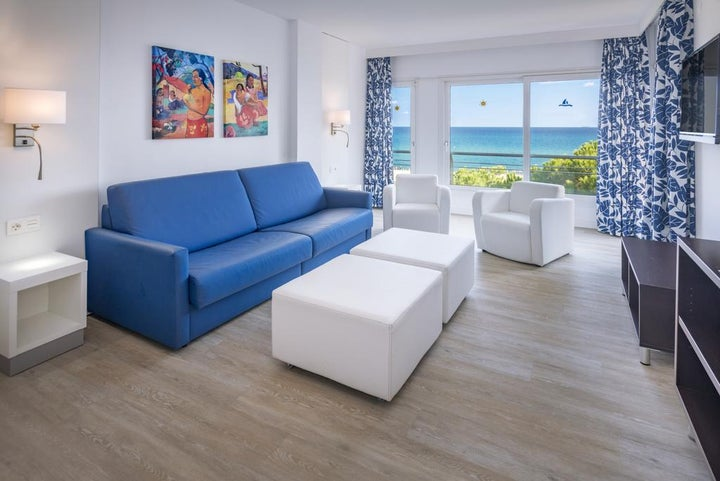 Tahiti Playa Suites in Santa Susanna, Costa Brava, Spain