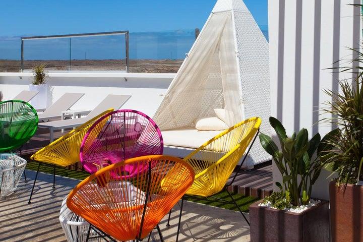 Bristol Sunset Beach in Corralejo, Fuerteventura, Canary Islands