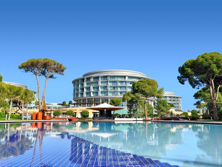 Calista Luxury Resort in Belek, Antalya, Turkey