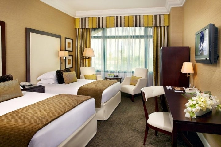 Roda Al Bustan Dubai Airport Hotel in Dubai City, Dubai, United Arab Emirates