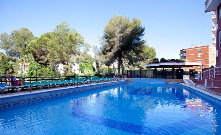 Luna Park in El Arenal, Majorca, Balearic Islands