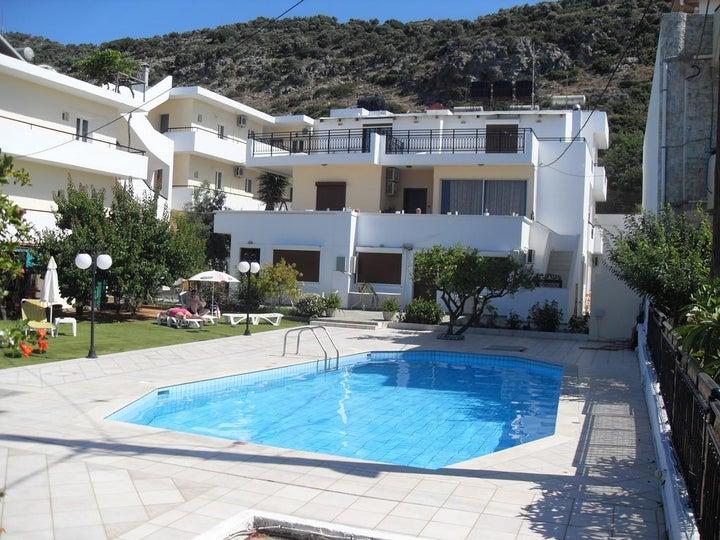 Iraklis Apartments in Stalis, Crete, Greek Islands