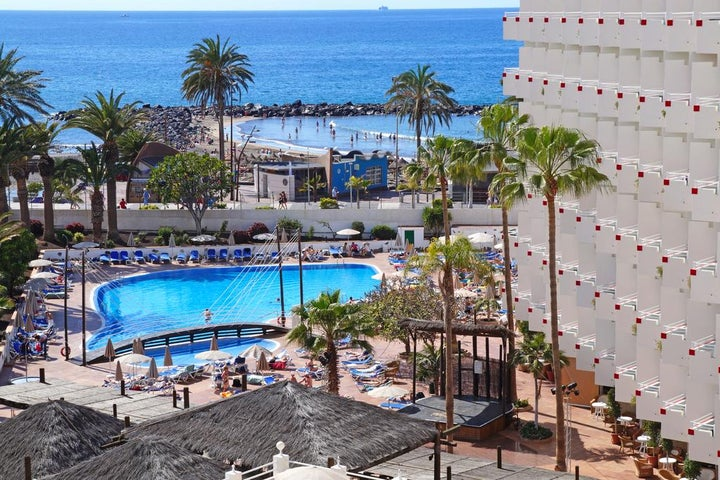 Hotel Troya in Playa de las Americas, Tenerife, Canary Islands