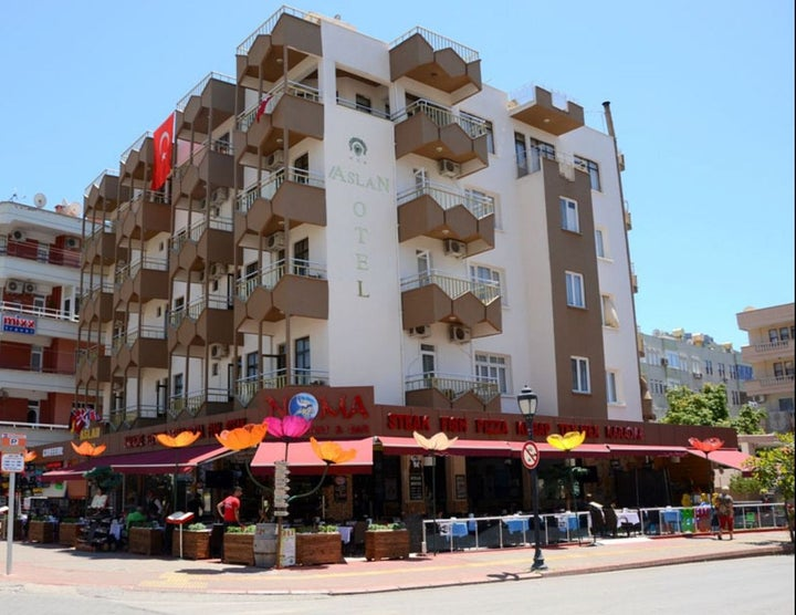 Aslan Hotel in Alanya, Antalya, Turkey