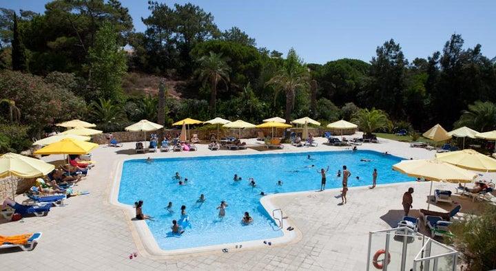 Algarve Gardens in Albufeira, Algarve, Portugal