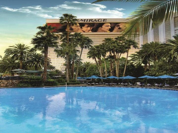 The Mirage Resort and Casino in Las Vegas, Nevada, USA