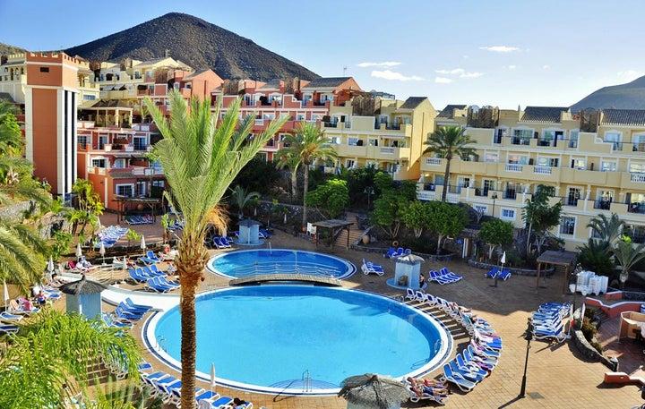 Granada Park in Playa de las Americas, Tenerife, Canary Islands