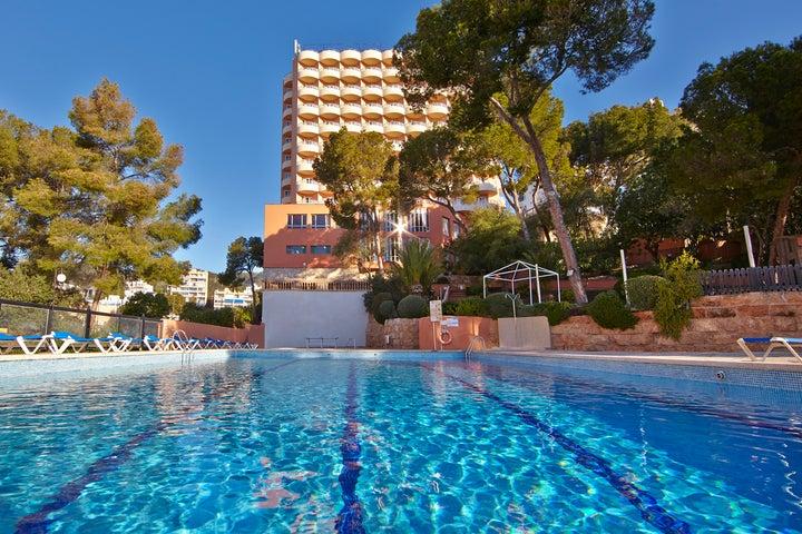 MLL Blue Bay Hotel in Cala Mayor, Majorca, Balearic Islands