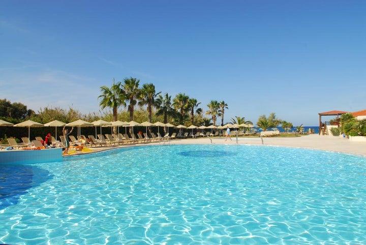 Minos Mare Hotel in Rethymnon, Crete, Greek Islands