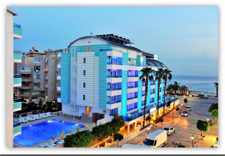 Mesut Hotel in Alanya, Antalya, Turkey