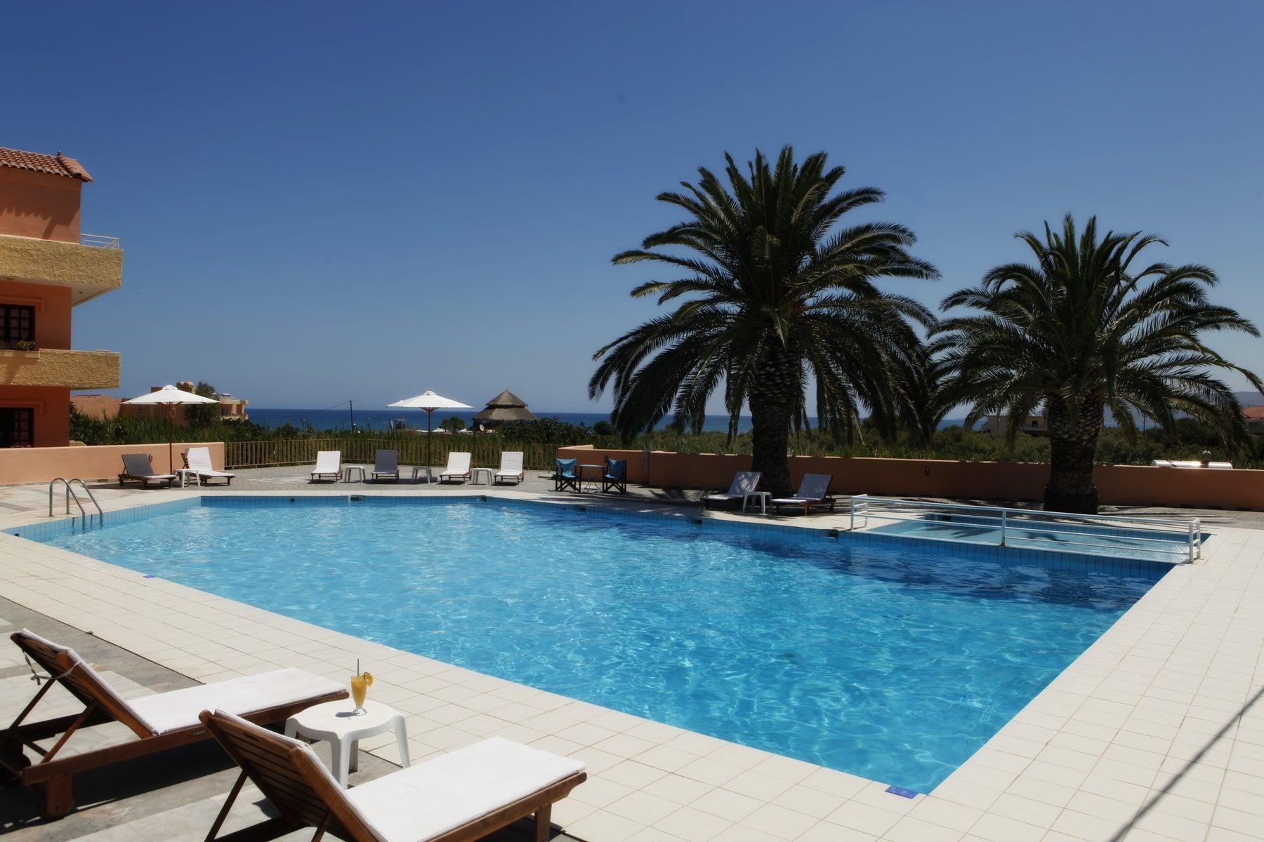Fereniki Hotel in Georgioupolis Crete Holidays