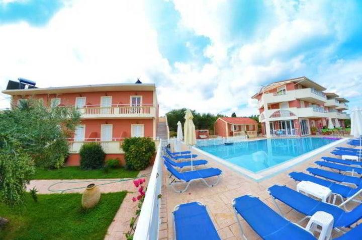 Pantheon Hotel in Tsilivi, Zante, Greek Islands