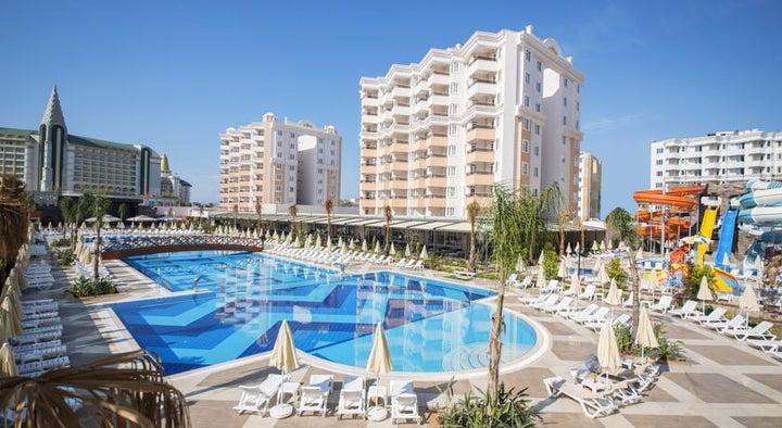 Ramada Resort Hotel in Lara Beach, Antalya, Turkey