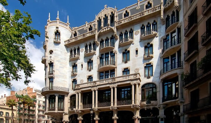 Casa Fuster in Barcelona, Costa Brava, Spain