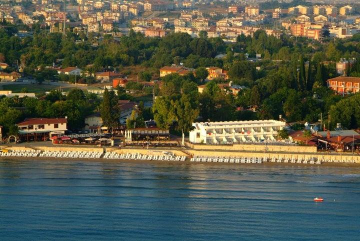 Side Beach Club in Side, Antalya, Turkey