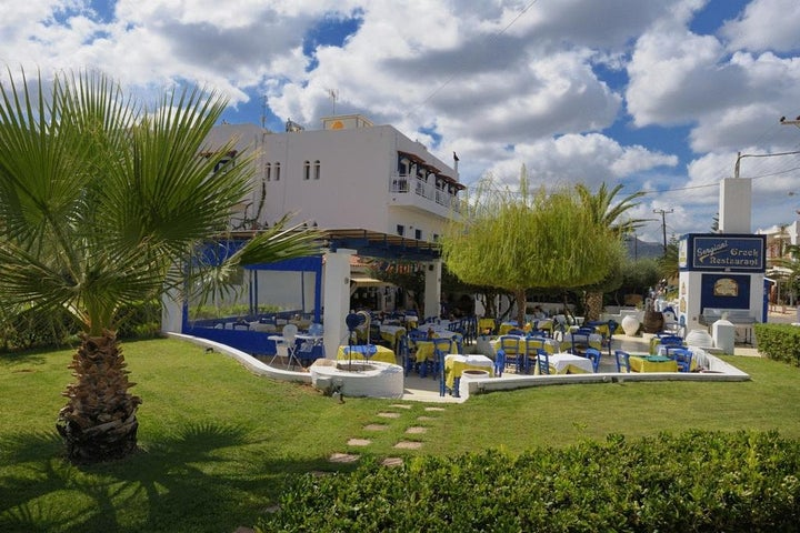 Sergiani Garden Hotel-Apartments in Stalis, Crete, Greek Islands