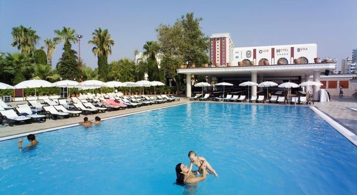Club Hotel Sera in Lara Beach, Antalya, Turkey