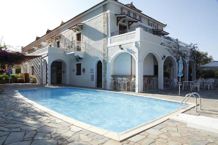 Lara Hotel in Lourdas, Kefalonia, Greek Islands