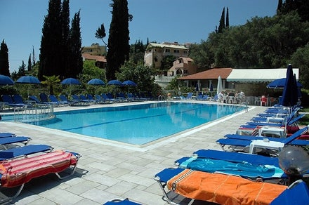 Irene Wellness Spot Apartments in Aghios Gordios, Corfu, Greek Islands