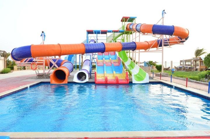 Bella Rose Aqua Park Beach Resort in Hurghada, Red Sea, Egypt