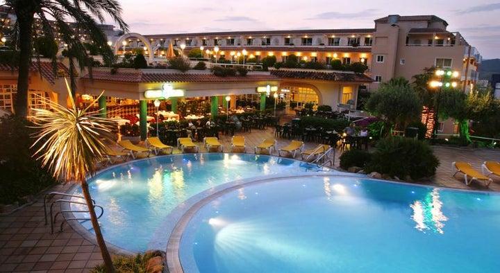 Guitart Central Park Resort & Spa in Lloret de Mar, Costa Brava, Spain