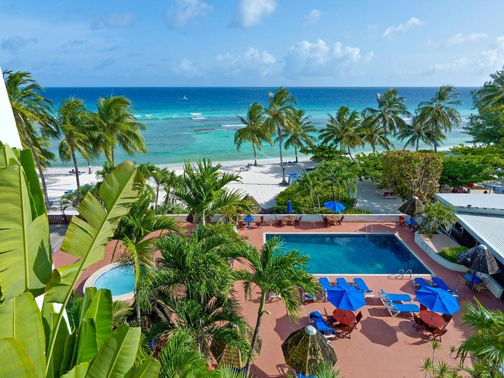 Coconut Court Beach Hotel in Christchurch, Barbados