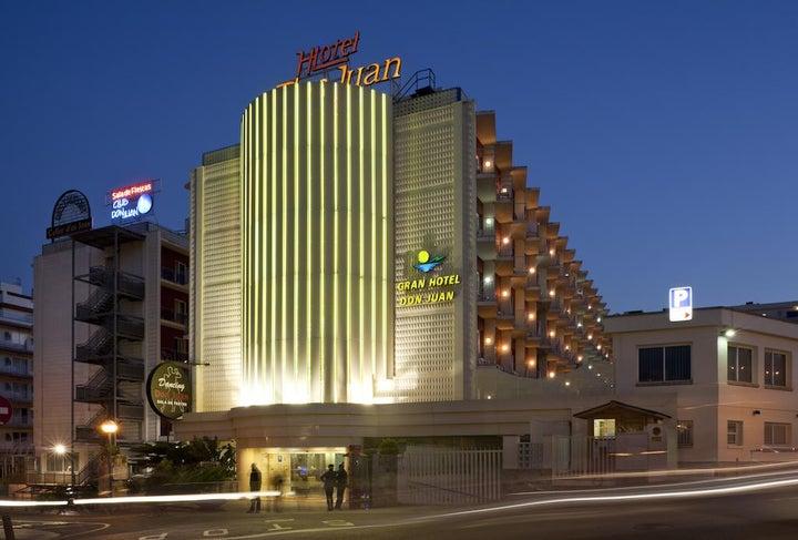 Gran Hotel Don Juan in Lloret de Mar, Costa Brava, Spain