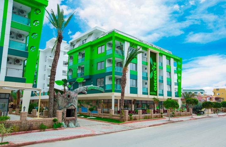 Green Life Hotel in Alanya, Antalya, Turkey