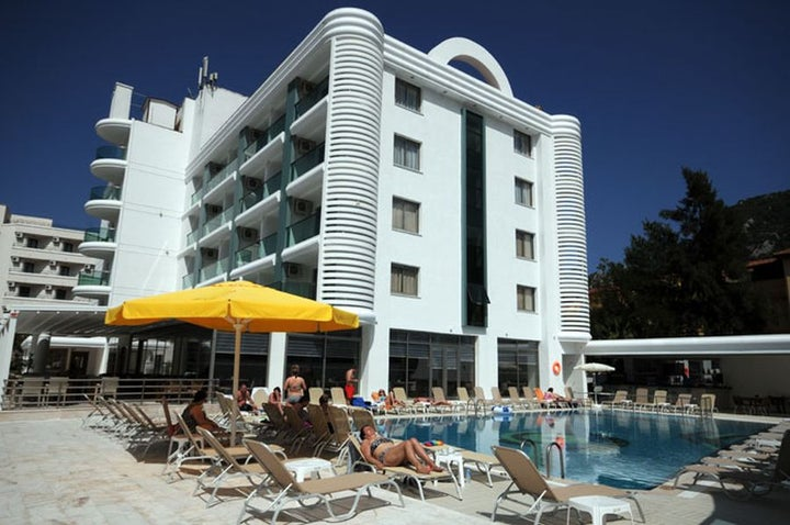 Idas Hotel in Icmeler, Dalaman, Turkey
